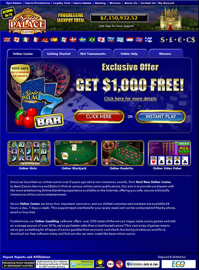 Free casino real money usa